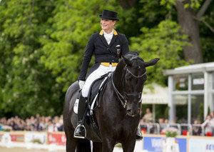 Ein tolles Paar: Isabell und Weihegold Foto: WRFC/Lafrentz)