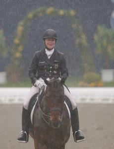 Während des Grand Prix regnete es aus Eimern Fotograf: Julia Rau